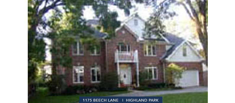 1175 Beech Lane | Highland Park